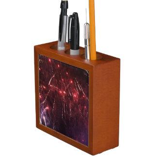 Fireworks Desk Organizer