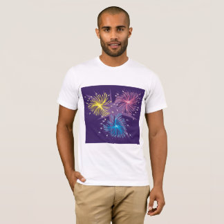 Fireworks Display Mens T-Shirt