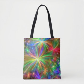 Fireworks Heaven Tote Bag