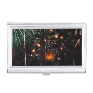 Fireworks II Business Card Holder