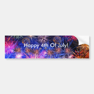 Fireworks image for Bumper Sticker