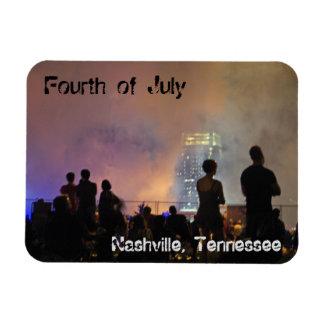 Fireworks in Nashville Magnet
