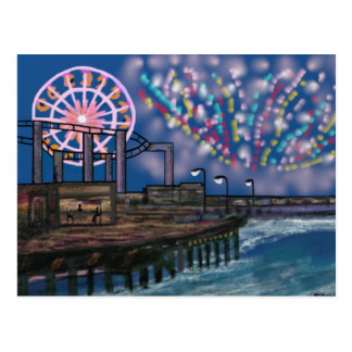 Fireworks in the Sky Postcard