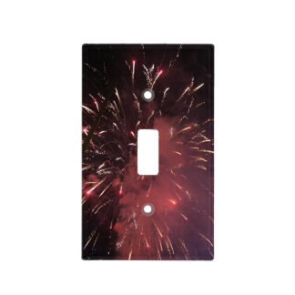 Fireworks Light Switch Cover