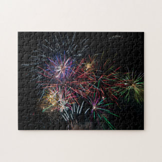 Fireworks Light Up the Night Jigsaw Puzzle