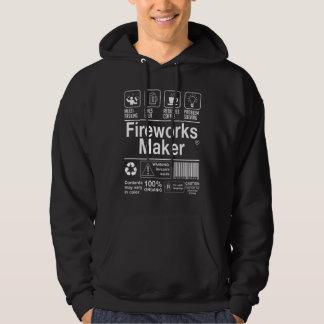 Fireworks Maker Hoodie