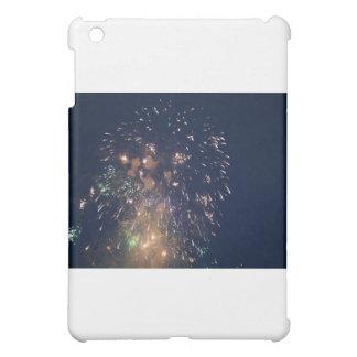 fireworks meteor splash blue swoosh iPad mini covers