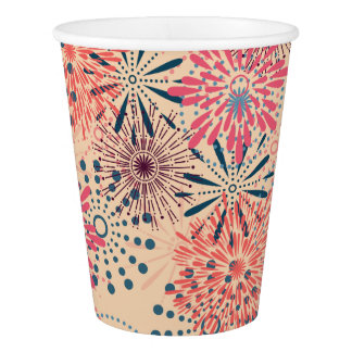 Fireworks Paper Cup