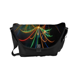 Fireworks photography at dusk messenger bags