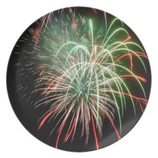 Fireworks Plate