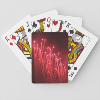 Fireworks Rocket Red Glare Playing Cards