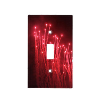 Fireworks Rockets Red Glare Light Switch Cover