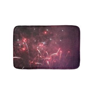 Fireworks  Small Bath Mat