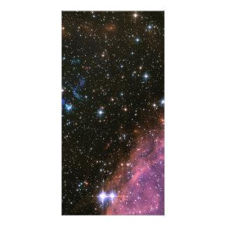 Fireworks Small Magellanic Cloud Customized Photo Card