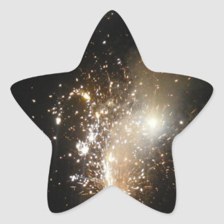 Fireworks Star Sticker