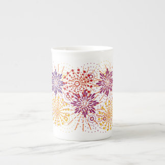 Fireworks Tea Cup