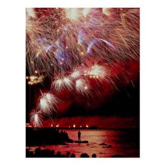 Fireworks, Toronto, Ontario, Canada Postcard