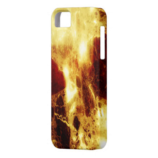 Firey marble iPhone 5 cover