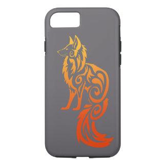 Firey Red Tribal Fox Kitsune iPhone 8/7 Case