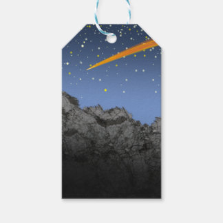Firey Sky Gift Tags
