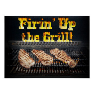 Firing up the Grill! Poster