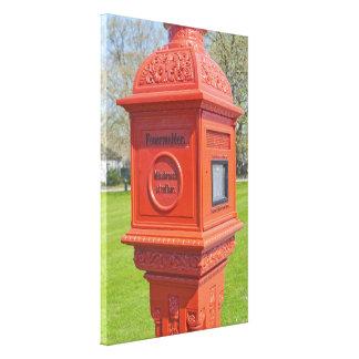 Firre Alarm Box Canvas Print