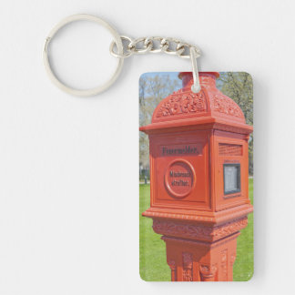 Firre Alarm Box Keychain