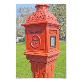 Firre Alarm Box Photo Art
