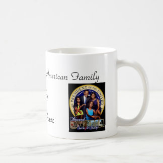 First African-American Family of the White House Classic White Coffee Mug