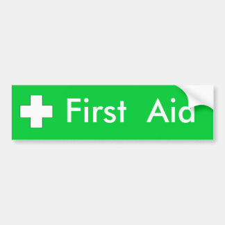 First Aid - Sticker