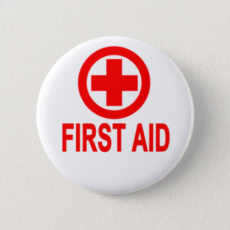 First aid Women's T-Shirts.png 2 Inch Round Button
