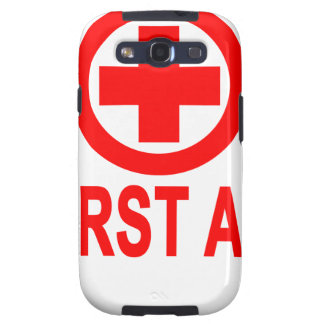 First aid Women's T-Shirts.png Samsung Galaxy SIII Case