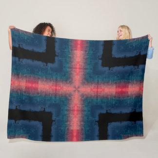 First Alien Contact Space Message Mandala Fleece Blanket