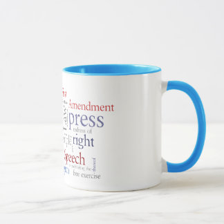 First Amendment Free Speech: Journalist, Lawyer's Mug
