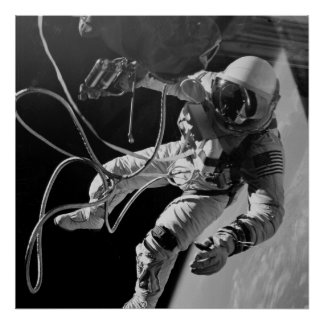 First American Spacewalk (Gemini 4) Poster
