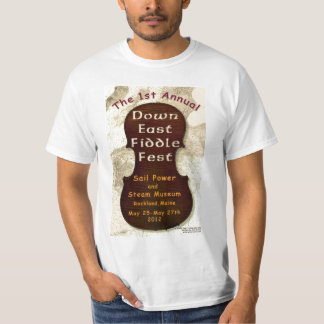 First Annual Down East Fiddle Fest T-Shirt