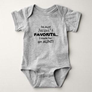 with Black Sunglass Aunt Custom Baby Bodysuit Im Cool Just Like My Auntie