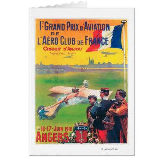 First Aviation Grand Prix Card