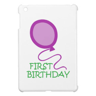 FIRST BIRTHDAY APPLIQUE CASE FOR THE iPad MINI