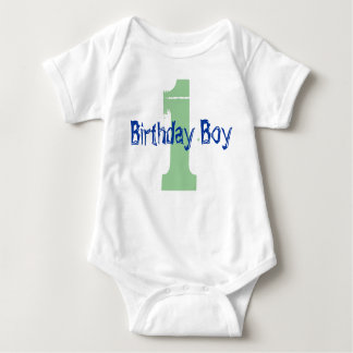 First Birthday Baby Bodysuit