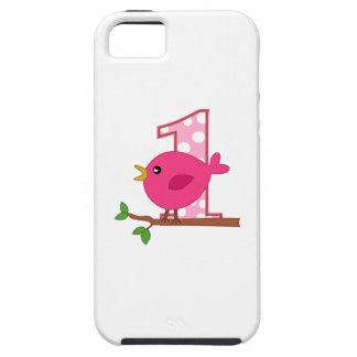 First Birthday Birdie iPhone 5 Case