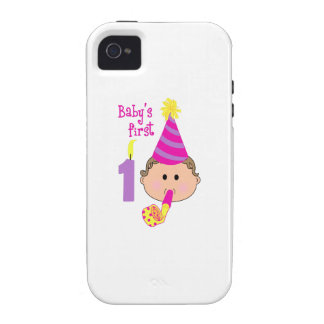FIRST BIRTHDAY VIBE iPhone 4 CASES