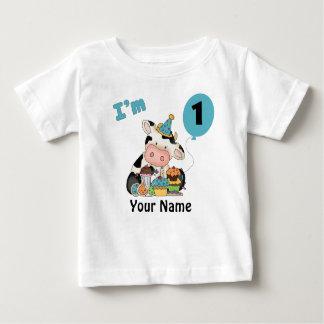 First Birthday Cow Tee Shirt