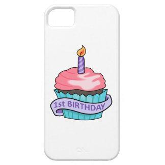 FIRST BIRTHDAY CUPCAKE iPhone 5 CASE