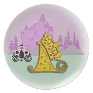 First Birthday Fairytale Princess Party Plates