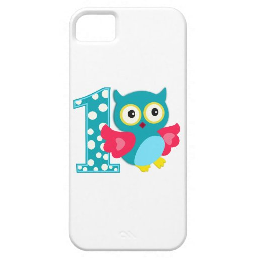 First Birthday Happy Owl iPhone 5 Cover