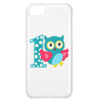 First Birthday Happy Owl Case For iPhone 5C