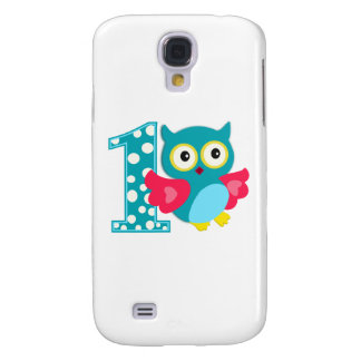 First Birthday Happy Owl Samsung Galaxy S4 Covers
