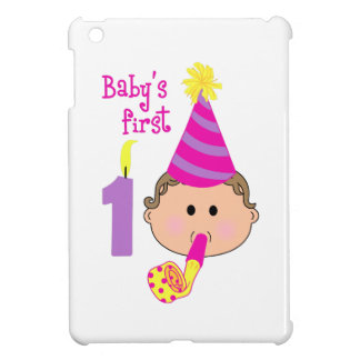 FIRST BIRTHDAY COVER FOR THE iPad MINI