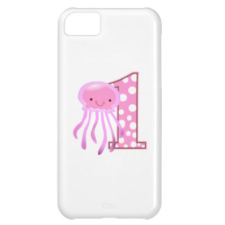 First Birthday Jellyfish Case For iPhone 5C